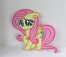 MY LITTLE PONY FLUTTERSHY CHARACTER EMBROIDERED APPLIQUÉ PATCH SEW OR IRON ON
