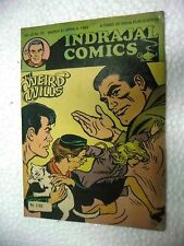 KERRY DRAKE THE WEIRD WILLS  VOL 22 NO 13  INDRAJAL IJC Comic ENGLISH  India