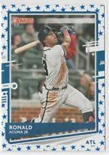 2020 Donruss Variations Independence Day #170 Ronald Acuna Jr. Atlanta Braves
