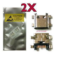 2 X New Micro USB Charging Sync Port T-Mobile Samsung Galaxy J3 Prime J327T USA