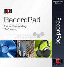 NCH RecordPad Audio Recording Software Audio Recorder FULL License KEY 2020✅🔥