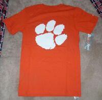 832379df NWT Clemson Tigers Nike Men's Big Paw DriFit Shirt Purple Sz Small ...