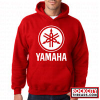 YAMAHA HOODIE RED Logo ATV Hooded Motocross OEM R1 Sweatshirt Race Racing