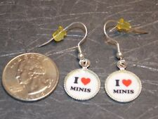 Dollhouse Miniature Jewelry Earrings REAL LIFE SIZE A8 Dollys Gallery Minis