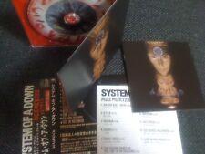 SYSTEM OF A DOWN / mezmerize / JAPAN LTD CD OBI