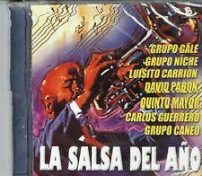 La Salsa del Año Grupo Gale Niche Caneo David Pabon y Otros NEW SEALED CD