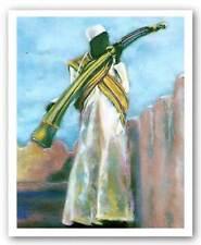 Horn of Ceremonies Jack Price African American Art Print 15x22