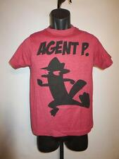 New Disney Phineas and Ferb Agent P Youth Medium M (10-12) Red Shirt