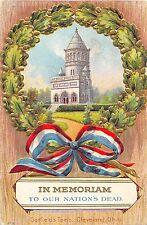 B83/ Patriotic Postcard 1911 Garfield's Tomb Cleveland Ohio President Memorium15