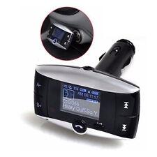 FM Transmitter Wireless Bluetooth Car MP3 Player Kit SD/MMC Handfree + Remote UK