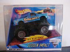 """2001 MONSTER JAM 1:43 SCALE """" SUDDEN IMPACT """" TRUCKS CARS"""