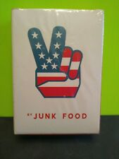 """""""Junk Food"""" Playing Cards New Sealed"""
