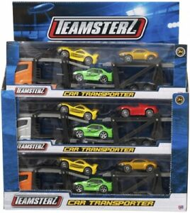 Teamsterz Die Cast transporter with cars Model Vehicle Boys Toy present gift