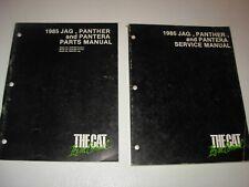 1985 Arctic Cat Jag , Panther , Pantera Snowmobile Parts & Service Manuals