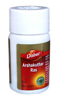 40 Tabs. Dabur Arshkuthar Ras an Ayurvedic Remedy for Piles