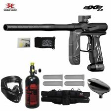 Maddog Empire Axe 2.0 Starter Hpa Paintball Gun Marker Package Dust Black