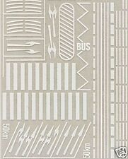 busch 7197 road markings spur  n 1:160
