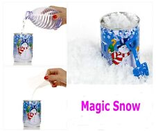 New Canned Instant Man-Made Magic Snow Fake Snowflake Christmas Party Decoration