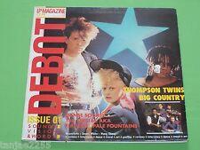 DEBUT MAGAZINE 1-Surtout Pale Fountains Thompson Twins-UK LP