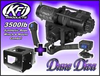 3500lb KFI Stealth Winch Combo -Sportsman 550 850 XP & 2011-2019 400 500 570 800