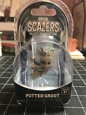 Marvel Guardians of the Galaxy NECA Scalers Potted Groot Mini Figure New