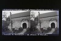 Francia Remiremont Foto Stereo L5n12 Vintage Placca Da Lente Negativo 1915