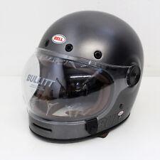 Casque Moto Tête casquée casque Bell Bullitt Retro Metallic Titanium Taille L 359459