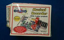 Radio Shack Electronic Snap Kit Music Recorder