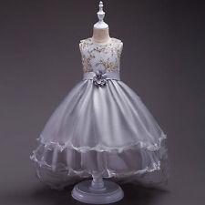 Flower Girl Dress Wedding Bridesmaid Formal Graduation Birthday Princess Dress