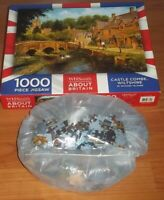 """CASTLE COMBE"" WILTSHIRE 1000 Pieces Jigsaw Puzzle By Richard  Telford VGC"