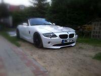 BMW Z4 E85 E86 front lip individual Dark Design for series bumper