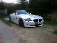 BMW Z4 E85 E86 front lip individual Dark Design for series bumper