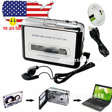 POCKET USB Cassette Tape to MP3 iPod CD Converter Capture Music Player walkman