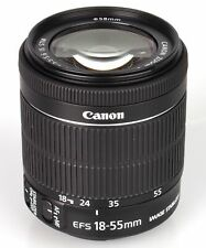Brand New Original  Canon EF-S 18-55mm F4-5.6 IS STM Bulk Box Black ES*1