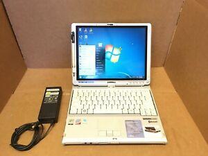 "Fujitsu LifeBook T4220 12.1"" Tablet PC 2.40GHz 2GB 120GB HDD Windows 7 Office 07"