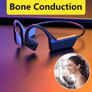 Wireless Bluetooth Bone Conduction Headset Sport Stereo Headphones Earphones UK