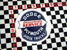 Dodge Plymouth Pickup Trucks Sticker
