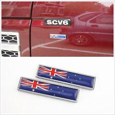 2 X Australian Flag Pattern Auto Body Fender Decorative 3M Stickers For Off-Road