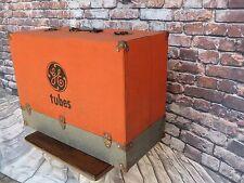 Vintage Original GE General Electric Radio / TV Tube Repairman Tube Case Caddy