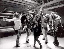 Janis Joplin and her band Big Brother and the Holding Company photograph - L2979