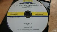 2013 NEW HOLLAND T8.275-T8.420 TRACTOR OPERATORS MANUAL CD DN163