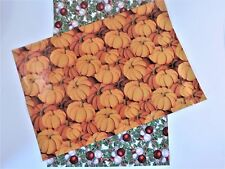 100 10x13 Christmas Pumpkin Mailers Poly Shipping Envelopes Boutique Bags