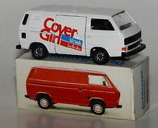 "Schabak Scale 1:43 - VW Transporter T3 Werbemodell ""Cover-Girl"" mit Reprobox"