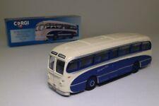 Corgi 97172; Burlingham Seagull Coach; Stratford Blue, Gaydon; Excellent Boxed
