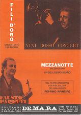 FILI D'ORO Nini Rosso - MEZZANOTTE Papetti - ACCORDION SWING Principe # SPARTITO