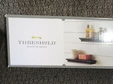 Threshold Quality Design Black 2 Piece Wall Shelf Set 15 3/4 Inch Sold @ Target