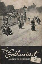 1941 July - The Enthusiast - Vintage Harley-Davidson Motorcycle Magazine