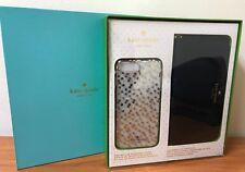 Kate Spade NY Gift Set iPhone 8 Plus & 7 Plus Black Wristlet & Polka dot Case