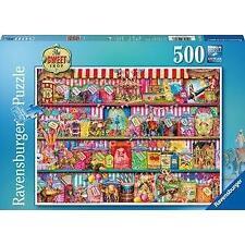 Ravensburger The Sweet Shop Aimee Stewart 500 Piece Jigsaw Puzzle