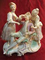 Nymphenburg Porcelain Figurine The Awakened Sleeper Rare!